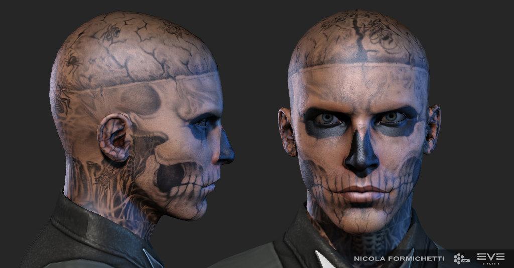 Rick Genest aka Zombie Boy's avatar
