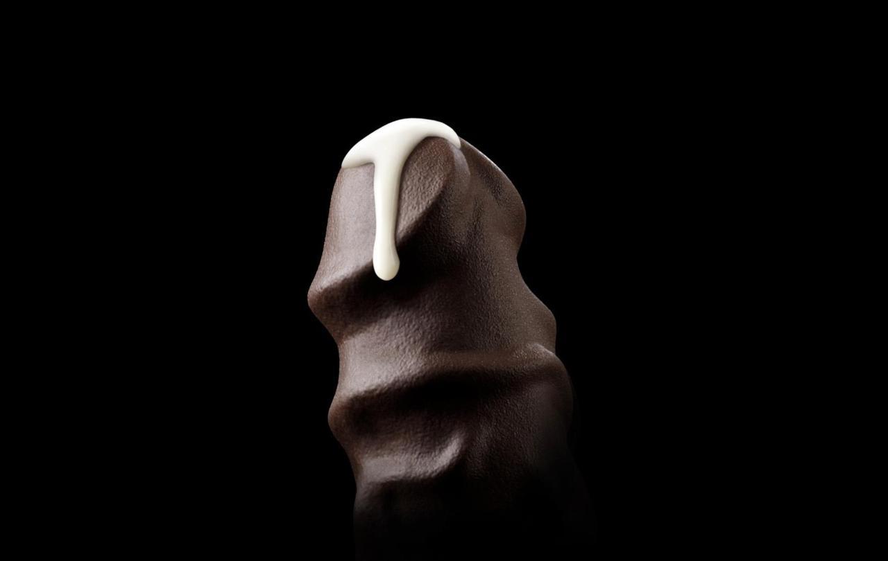 Шоколадный сладкий член онлайн 4 фотография