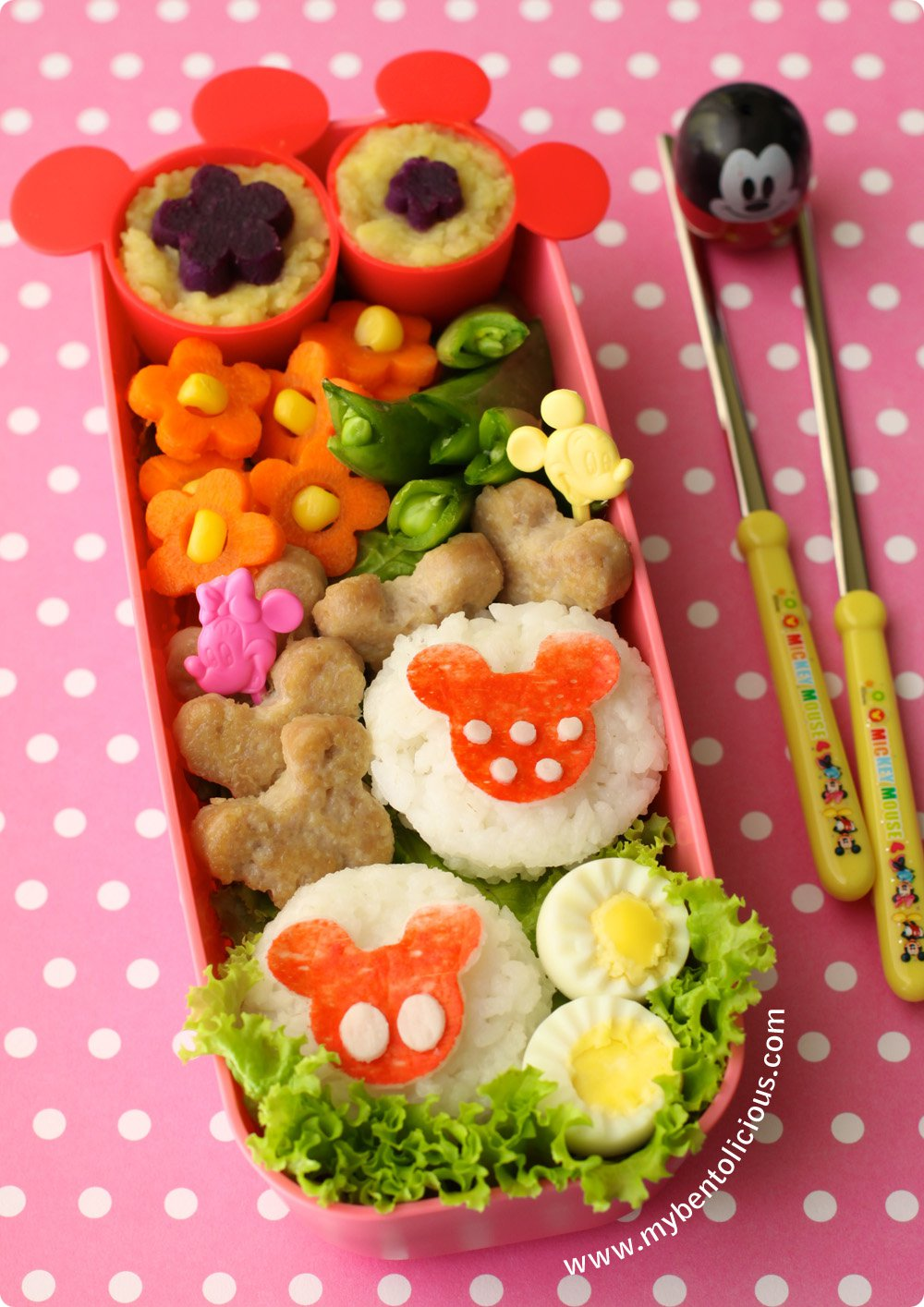 Mickey-and-Minnie-Mouse-Disney-Bento-Box