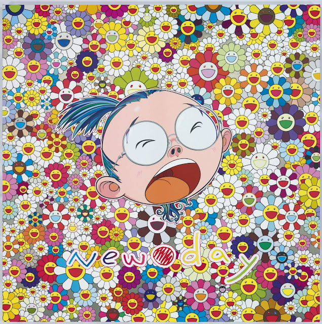 Takashi Murakami - New day Face of the Artist - (C)2011 Takashi MurakamiKaikai Kiki Co., Ltd. All rights reserved