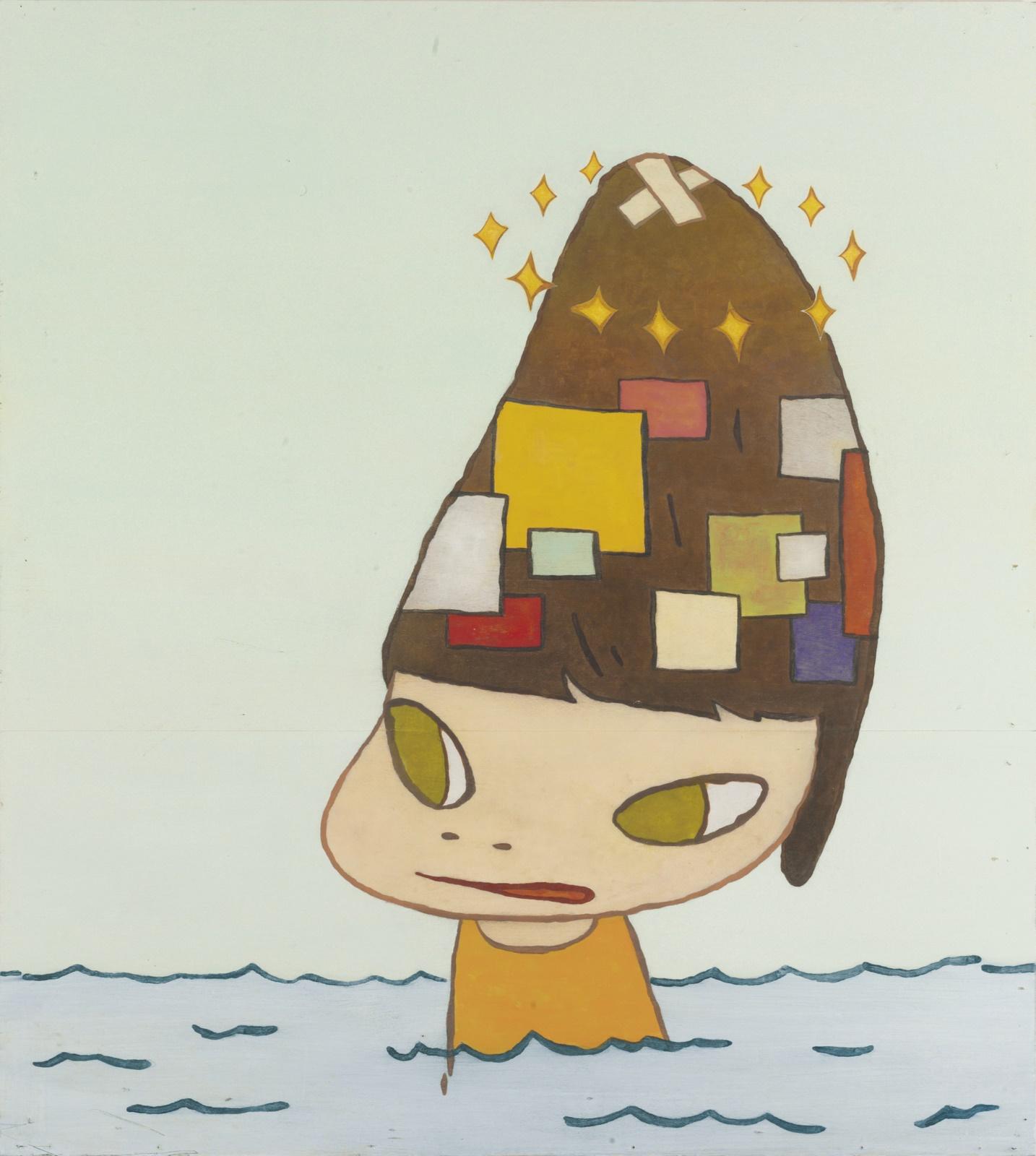 Yoshitomo Nara - Patched Head