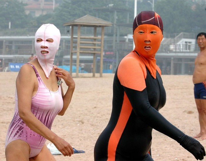 Beach Essentials 2013: Face-Kini